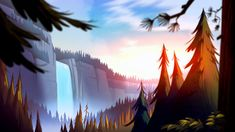 Gravity Falls HD Wallpaper