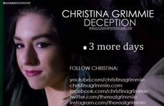 #BalladofJessicaBlue #ChristinaGrimmie