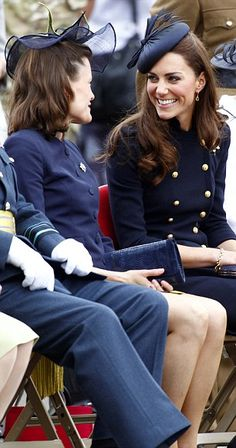 Catherine, Duchess of Cambridge attends the Irish Guards Medal Parade at the Victoria Barracks