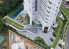 Ardmore Residence skyscraper in Singapore by UNStudio