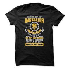 (New Tshirt Choose) Awesome Installer Shirt Teeshirt this week Hoodies Tee Shirts