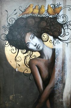 Sophie Wilkins ~ http://www.sophiewilkins.com/ Sophie Wilkins is an Canadian painter, known for working in the Magic Realism style.