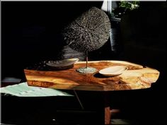 View this item and discover similar for sale at - George Nakashima Minguren II coffee table. Nakashima Studio, 1978 English walnut and rosewood. Measures: 16 H x 44 W x 30 D inches.