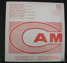 popsike.com - LP RARE ITALIAN CAM LIBRARY SPANISH MOOG LISTEN mp3 ! - auction details