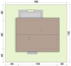 DOM.PL™ - Projekt domu ARN Sezam CE - DOM RS1-24 - gotowy koszt budowy Dom, Continental Wallet, Houses