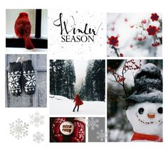 """""""Winter"""" by catchsomeraes ❤ liked on Polyvore featuring art, Winter, cozy and snow"""
