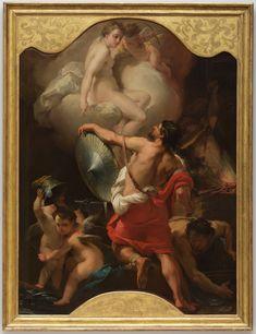 Image result for sebastiano mazzoni three graces