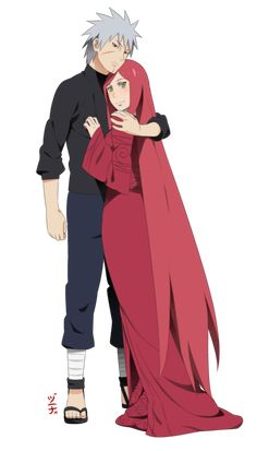 Commission - Tobirama and Himeko by dannex009.deviantart.com on @DeviantArt