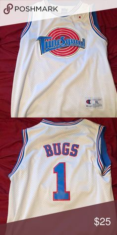 7afaacc2f1dbf1 Toon squad Jersey from Space Jam movie XL jersey and the jersey and belongs  to bugs