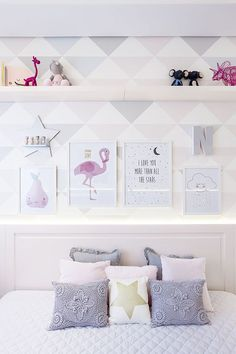 Figueiredo fischer q u a r t o ★ bedroom decor, room decor e Baby Bedroom, Home Bedroom, Girls Bedroom, Bedroom Decor, Bedrooms, Room Baby, Dream Rooms, Dream Bedroom, Baby Decor