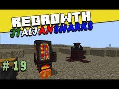 Regrowth ITA Minecraft Ep 19 - E crucible furnace sia - #minecraftita