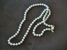 Vintage Marvella Faux Pearl Bridal Wedding by CrimsonVintique, $28.00