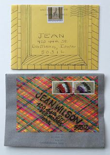 pushing the envelopes. With the top envelope, the PO actually contributed to the decoration.