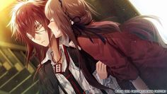 Enomoto Mineo and Hoshino Ichika 【Collar×Malice】 Code Realize, Red Hair Men, Under The Moon, Diabolik Lovers, Yandere, Anime Couples, Character Inspiration, Fan Art, Fictional Characters