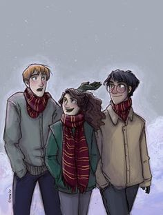 WallPotter: Ronald Weasley, Hermione Granger, Harry Potter,