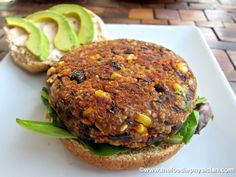 GOURMET VEGAN REECIPES | Dining with the Doc: Black Bean & Quinoa Veggie Burgers