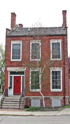 John Mason Residence  Sixth Street at Bagley,  Corktown, Detroit  #Detroit