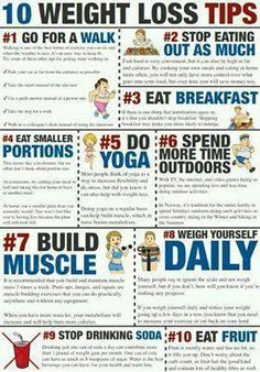 10 weight loss tips, muscle, workout, eat healthy