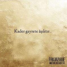 """""""Takdir-i ezele teslimiz ama gayrete de aşığız.."""" Cahit Zarifoğlu #sözlerorijinal"""