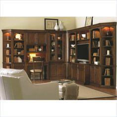 Hooker Furniture Cherry Creek Modular Wall Entertainment System - 258-70-WallGroup-KIT