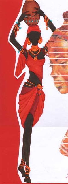 African by *ElysianSkies -repinned by http://LinusGallery.com #art #artists #contemporaryart