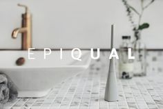EPIQUAL is raising funds for EPIQUAL - The Most Beautifully Designed Toothbrush. on Kickstarter! Toothbrush is about how we live better, not the science of dentistry. Support our efforts in driving out ugly & gimmicky toothbrush. Design Thinking Process, Personal Hygiene, Dentistry, Industrial Design, Most Beautiful, Bathtub, Projects, Beauty, Product Design