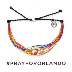#PRAYFORORLANDO  We want to thank everyone who showed their support yesterday by purchasing the LGBT Pride Awareness Platinum! If you missed the opportunity, you can now purchase the LGBT Pride Awareness Braided in which 100% off the proceeds will be donated to the Pulse Victim Fund GoFundMe page hosted by Equality Florida. This is the time to purchase with a purpose!    Link in bio to shop the LGBT Pride Awareness Braided. #livefree #puravidabracelets #loveislove #lovewins