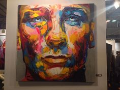 Stunning New Knife-Painted Portrait by Francoise Neilly - My Modern Metropolis