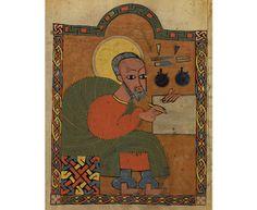 Saint Luke, Ethiopia about 1480-1520