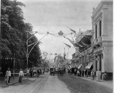 Gedung Societeite Concordia tahun 1889 Jalan Societeitstraat (sekarang jalan veteran)