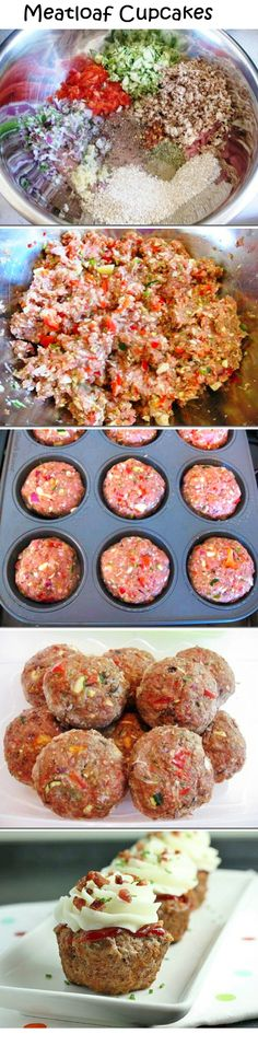 20 Cupcake Ideas That Will Keep You Nom Nomming, meAtloaf cupcake