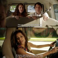 "That time Gabrielle reassured these passengers. | 29 Hilarious Gabrielle Solis Quotes From ""Desperate Housewives"""