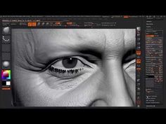 Making of George Clooney likeness in ZBrush by Hossein Diba   Zbrush Tuts