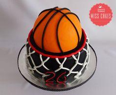 Basketball Cake, Torta Basquetbol, Boy cake