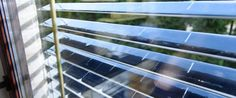 SolarGaps is offering their smart solar blinds on Kickstarter. The energy efficient blinds provide shade and also generate clean energy.