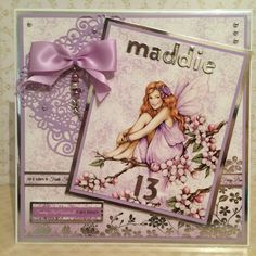 (43) MrsSkittleS - CraftWorld Angel Cards, Fairies, Angels, Let It Be, Frame, Faeries, Picture Frame, A Frame, Frames