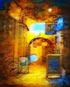 Ireland, Digital Art, City, Painting, Painting Art, Cities, Paintings, Irish, Painted Canvas
