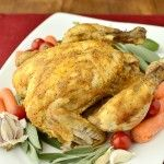 Crock Pot Roast Chicken | Iowa Girl Eats