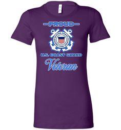 Proud U.S. Coast Guard Veteran Women's T-Shirt