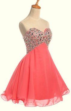 Short Evening Dress, Prom Dress