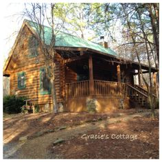 At Welcome Valley Village near Benton TN - our little dream cabin for two nights...loved it!