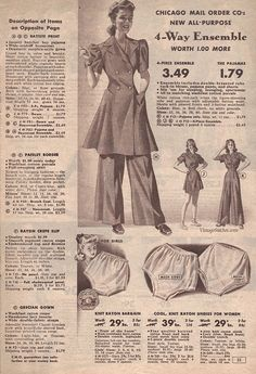 c947e55788e 62 Best Summer 1942 Sale - Chicago Mail Order Company images ...