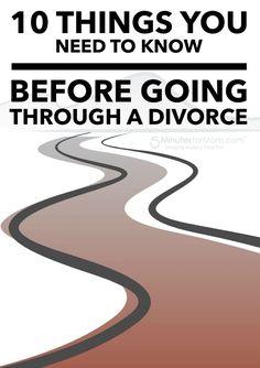 Dating someone going thru a divorce