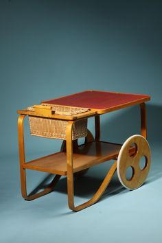 Tea Trolley by Alvar Aalto アルヴァ・アアルト