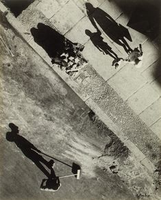 Umbo - [Mystery of the Street], early surrealist photorapgy