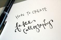 falligraphy.