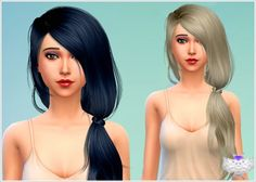 David Sims: Newsea's TellMe Hairstyle Converted • Sims 4 Downloads