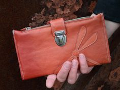 "upcycling leather wallet ""Elfie"""