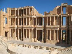 Sabratha roman ruins - Libya