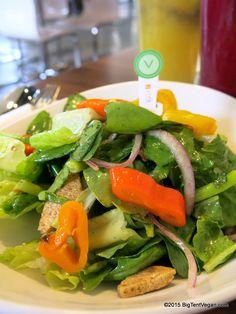 Antipasto Salad with Chimichurri Vinaigrette, LYFE Kitchen (Irvine Spectrum, Irvine, CA but also national chain) #vegan